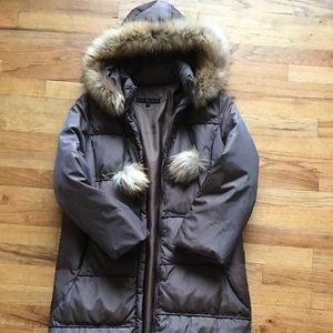Via Spiga Jackets & Coats - Via spiga winter coat with fur